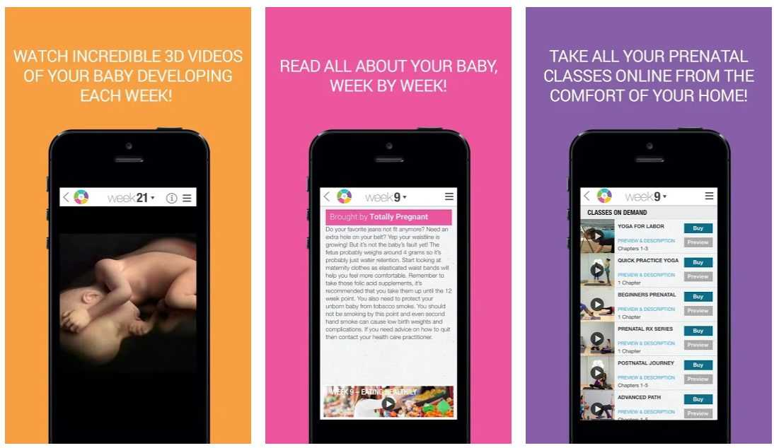 Best Pregnancy Apps for Android and iOS