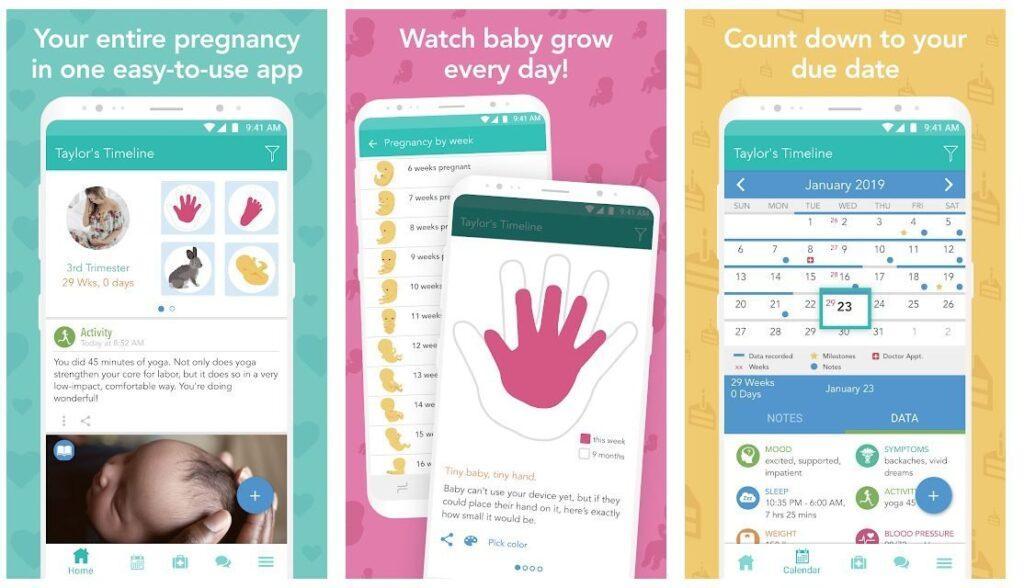 Best Pregnancy Trackers -Glow Nurture-Pregnancy Tracker