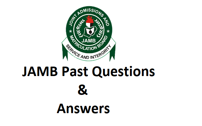 JAMB Past Questions and Answers for All Subjects 1