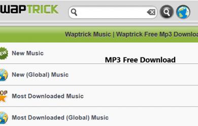 waptrick downloading music