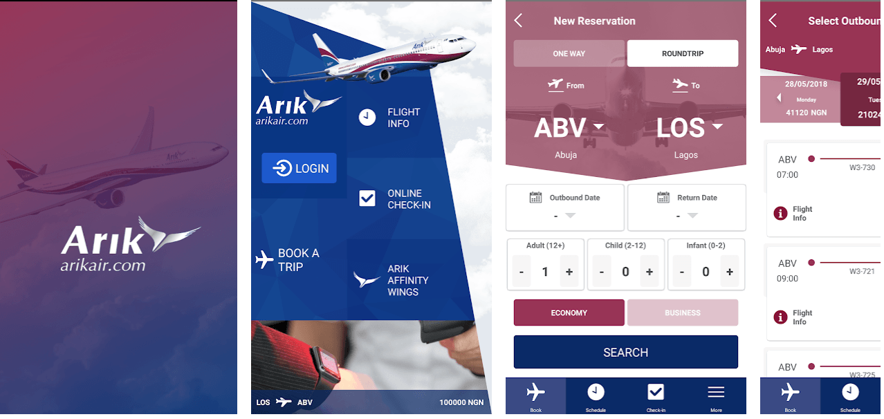 Book Arik Air Flight Online