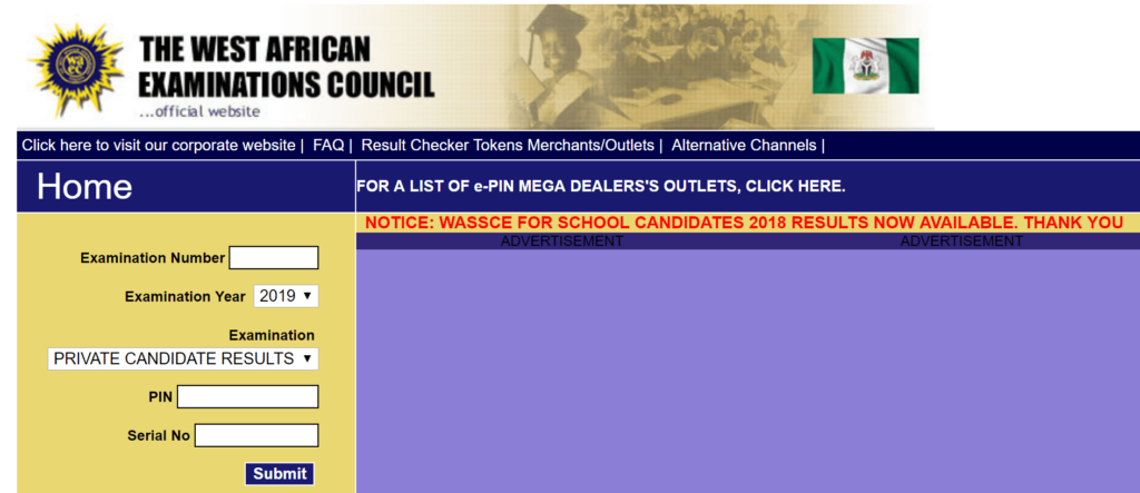 How to check WAEC results in Nigeria