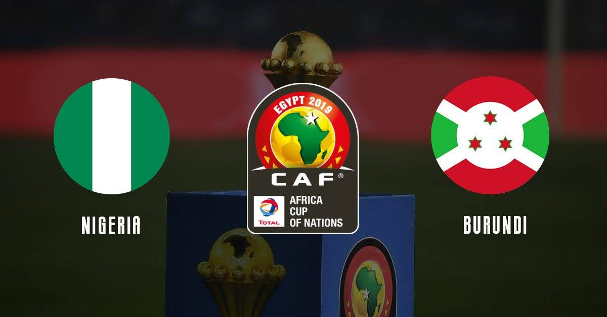 Watch Nigeria vs Burundi LiveStreaming