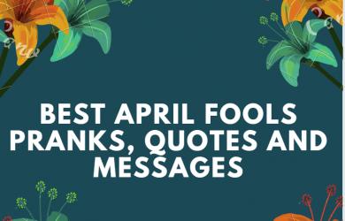 April Fools Pranks