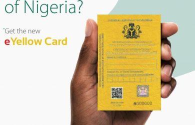 E-Yellow Card in Nigeria
