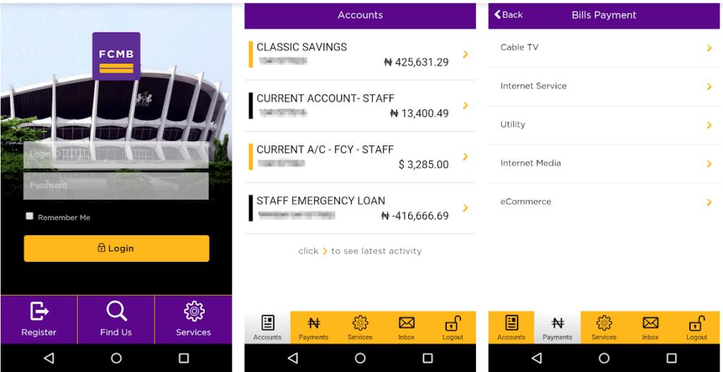 FCMB Mobile Plus App
