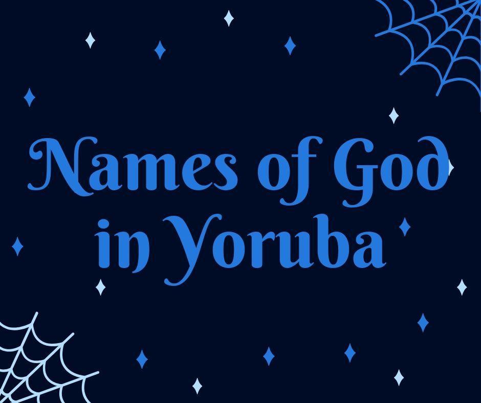 Names of God in Yoruba