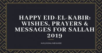 HAPPY EID-EL-KABIR WISHES