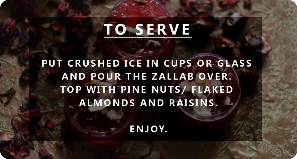 Jallab Zobo and Date Drink picture