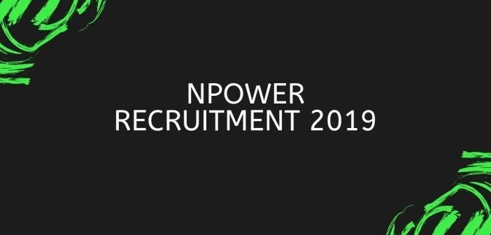NPower Recruitment 2019