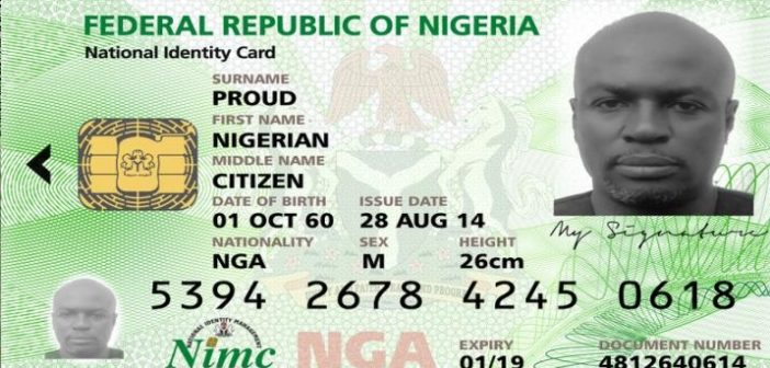 how to check National ID Card