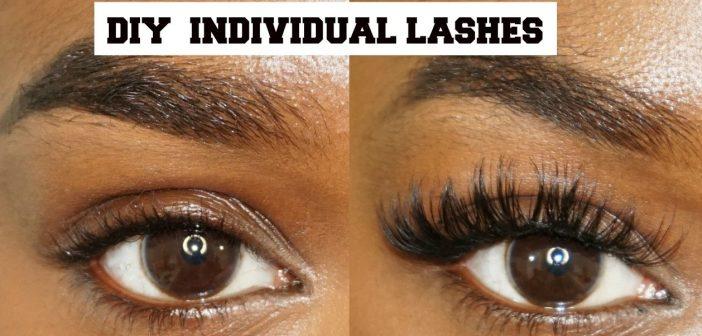 how to remove individual eyelashes