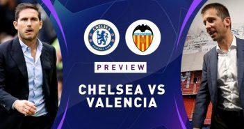 Chelsea FC vs Valencia Champions League