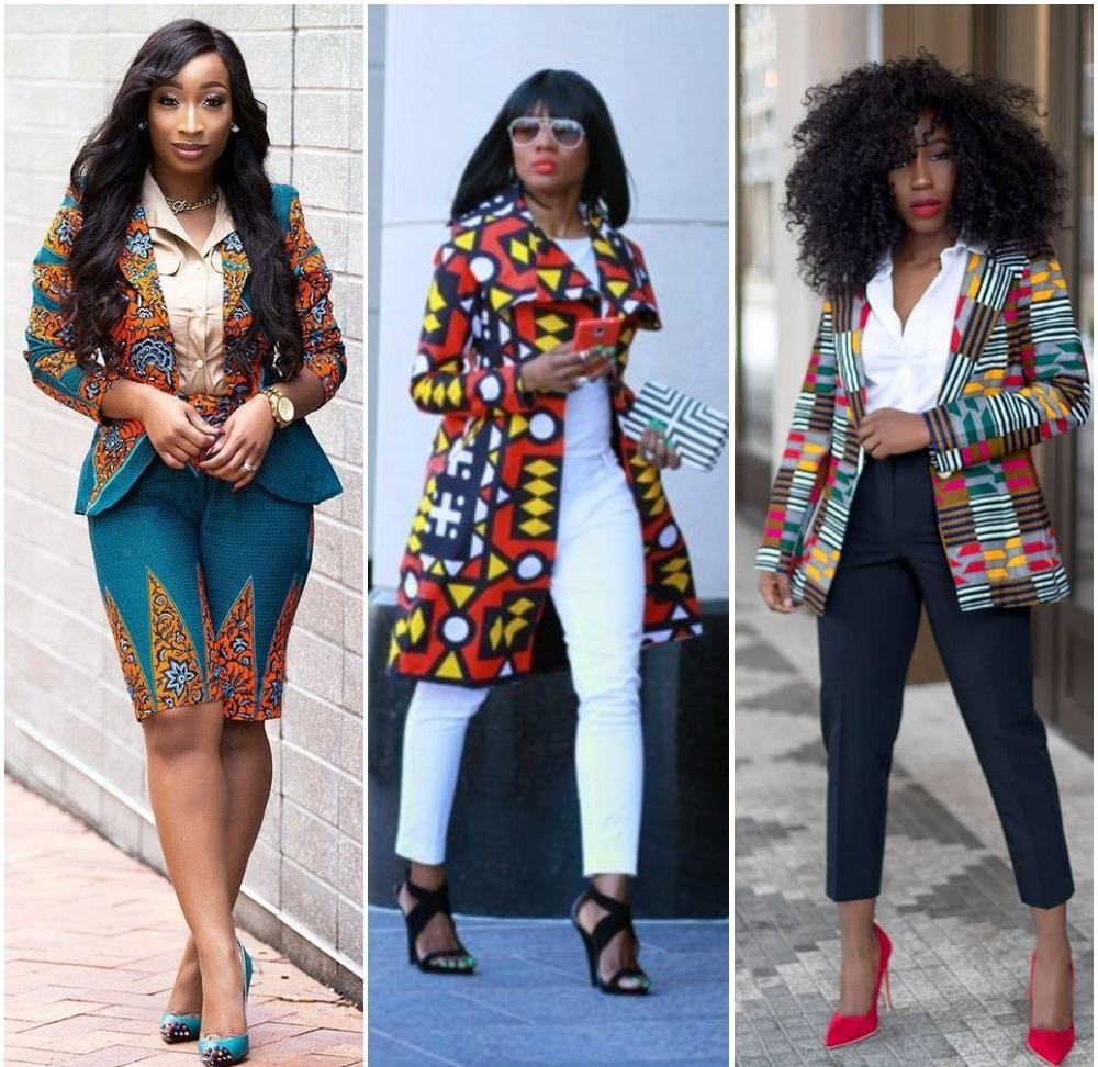 Ankara Jacket Style