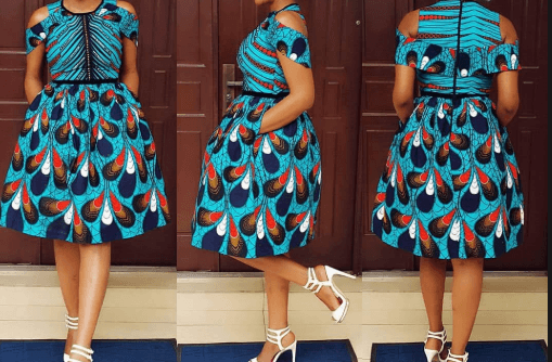 Ankara Party Skirt