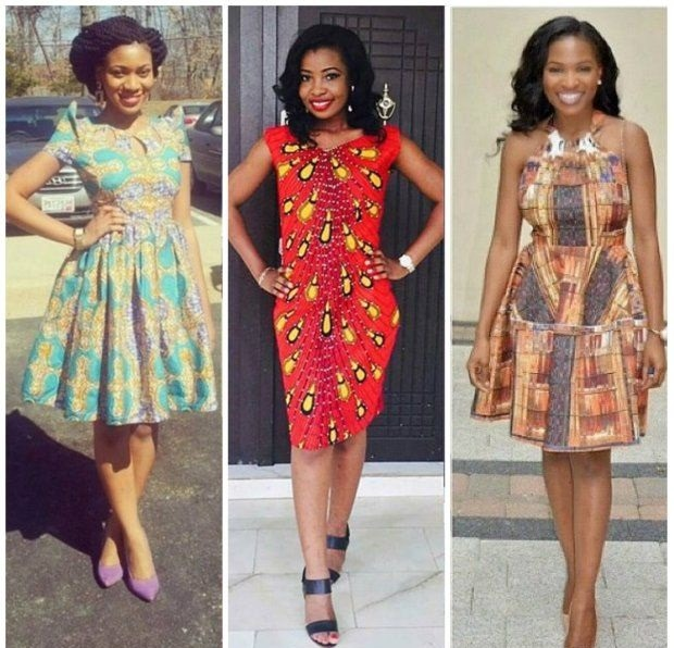 Funky and Short Ankara Style