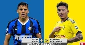 Inter Milan vs. Borussia Dortmund