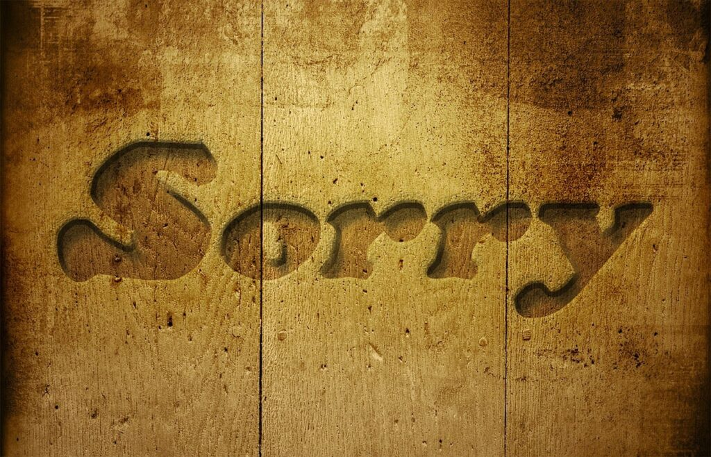 50 Best Apology messages for girlfriend, boyfriends, and bosses 2