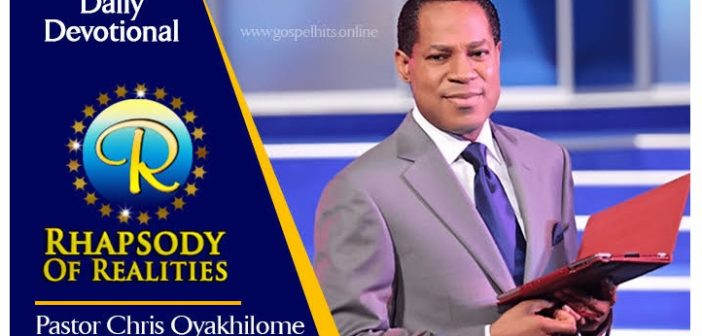 Free Rhapsody of Realities PDF download for November 2019