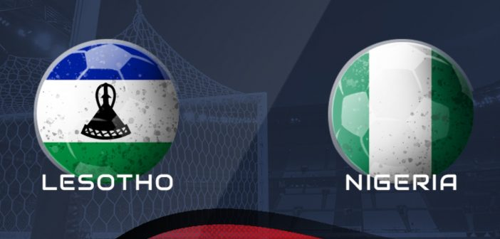 Lesotho Vs Nigerian African Nations Cup